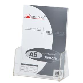 Brochureholder bord 1 fag A5