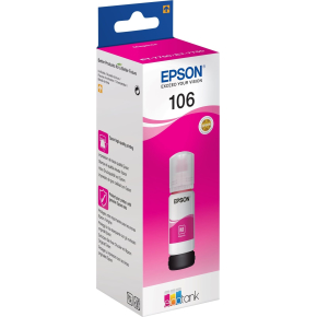 Epson T106 blæktank, magenta, 70ml