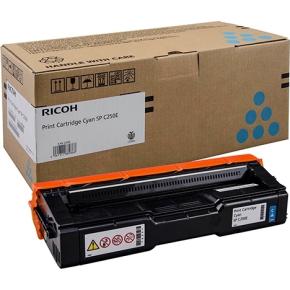 Ricoh 407544 lasertoner, cyan, 1.600s