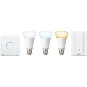 "Philips HUE E27 ""atmosfærelys"" samlet pakket, hvid"