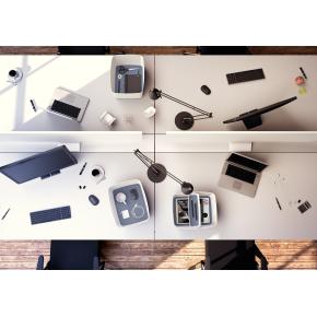 Leitz MyBox Organiseringsbakke Small, hvid