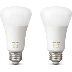 Philips HUE E27 ambiance dobbeltpakke, hvid+farve