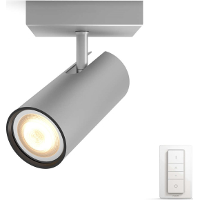 Philips HUE Buratto GU10 spot, aluminium + kontakt