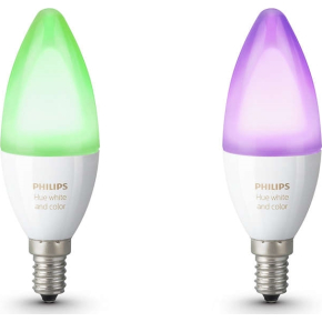 Philips HUE White + color Ambiance E14, 2-pak
