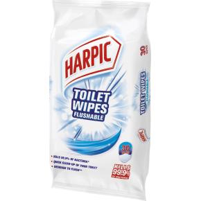 Harpic Toilet Wipes Desinfektionservietter,30 stk.