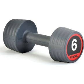 Reebok Gummi Håndvægt, 6 kg