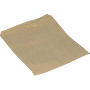 Papirpose 14x17,5 cm, 40g, brun