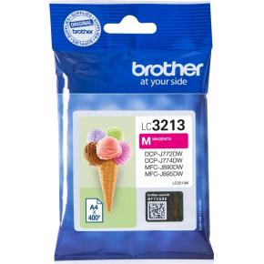 Brother LC3213 blækpatroner, magneta, 400s
