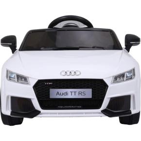El-drevet Audi TT RS til børn, hvid