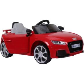 El-drevet Audi TT RS til børn, rød
