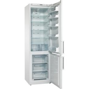 Scandomestic SKF 395 A+ køle-fryseskab, stål
