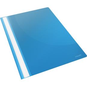 Esselte Vivida tilbudsmappe, A4, uden lomme, blå