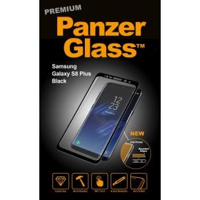 PanzerGlass PREMIUM Samsung Galaxy S8 Plus, sort