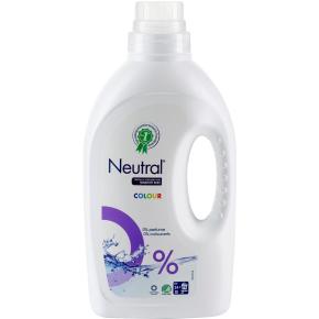 Neutral vaskemiddel flydende, kulørt vask, 1425ml