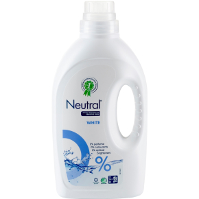 Neutral vaskemiddel flydende, hvid, 1425 ml