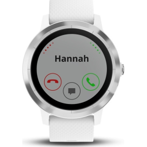 Garmin vívoactive® 3 GPS-smartwatch, hvid/stål