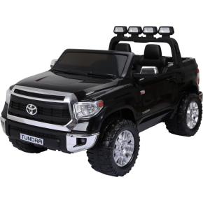 El-drevet Toyota Tundra mini-bil, 24V, sort