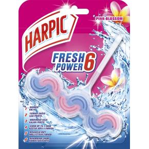 Harpic Wave Pink Blossom WC-blok, 1 stk.