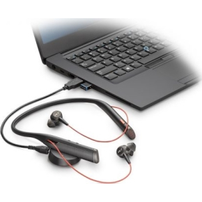 Plantronics Voyager 6200 UC headset, sort
