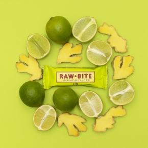 Rawbite Spicy Lime Snackbar, 50g