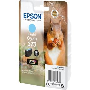 Epson T378 blækpatron, light cyan, 4.8 ml
