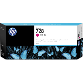 HP nr.728/F9K16A blæk, magenta, 300ml