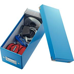 Leitz Click & Store CD-boks, blå