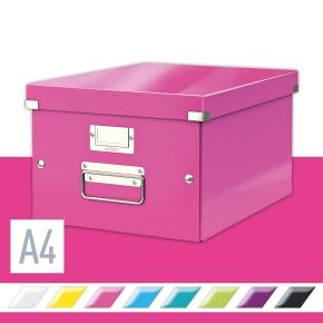 Leitz Click & Store opbevaringsboks medium, pink