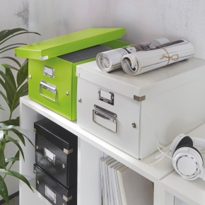 Leitz Click & Store opbevaringsboks medium, lime