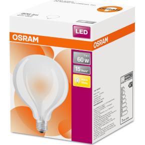 Osram LED Globepære E27, 7W=60W