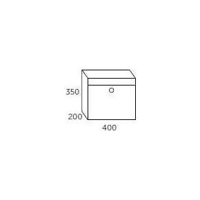 Allux SC200 Systempostkasse, antracit stål