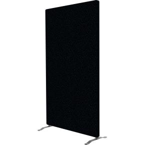 Easy skærmvæg H170xB100 cm sort