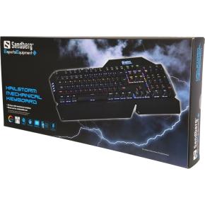 Sandberg Halistorm Mech gaming tastatur (nordisk)