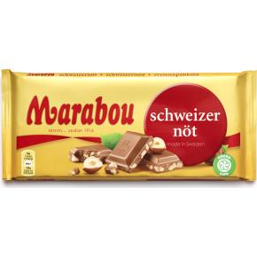 Marabou Schweizernød, 200g
