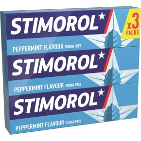 Stimorol peppermint 3pk.