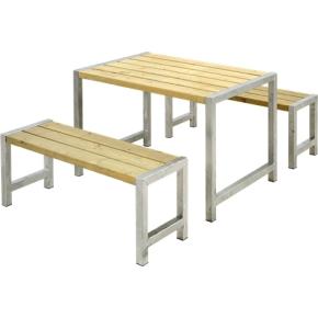 Plus Cafe Plankesæt L. 127 cm, Trykimprægneret