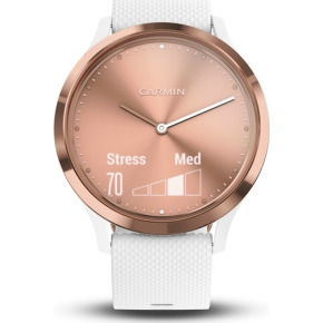 Garmin vívomove® HR hybrid-smartwatch, Rose (S/M)