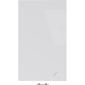 Vanerum Bright glastavle, 60 x 90 cm, hvid