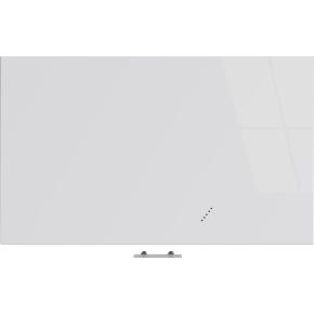 Vanerum Bright glastavle, 120 x 200 cm, hvid