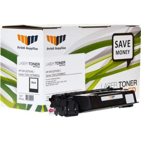 MM 53X/Q7553X kompatibel HP lasertoner, sort