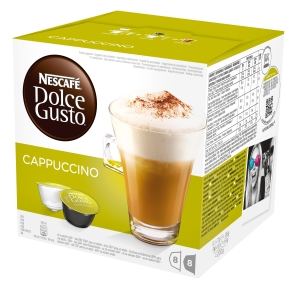 Dolce Gusto Cappuccino Kaffekapsler, 16 stk.