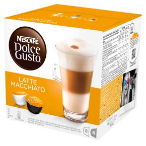Dolce Gusto Latte Macchiato Kaffekapsler, 16 stk.