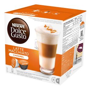 Dolce Gusto Caramel Macchiato Kaffekapsler, 16 stk