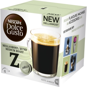 Dolce Gusto Zoegas Mellemrist Kaffekapsler, 16 stk