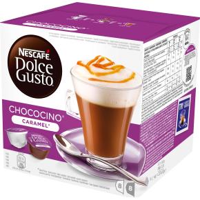 Dolce Gusto Chococino Caramel Kakaokapsler, 16 stk