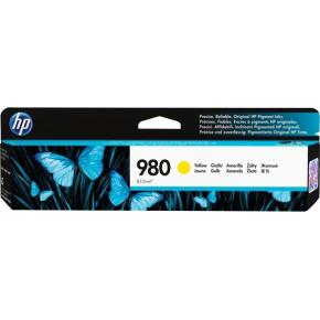 HP 980/D8J09A blækpatron, gul, 6.600s