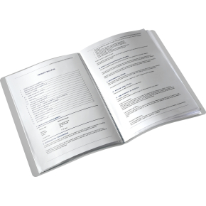 Leitz Style Displaybog 20 lommer, hvid