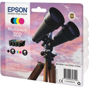 Epson T502 blækpatron multipakke, 14,5ml