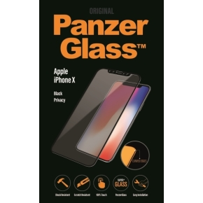 PanzerGlass PREMIUM iPhone X Privacy, Sort