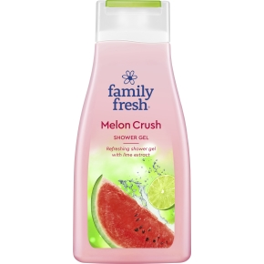 Family Fresh Shower Melon Crush, 10x500 ml